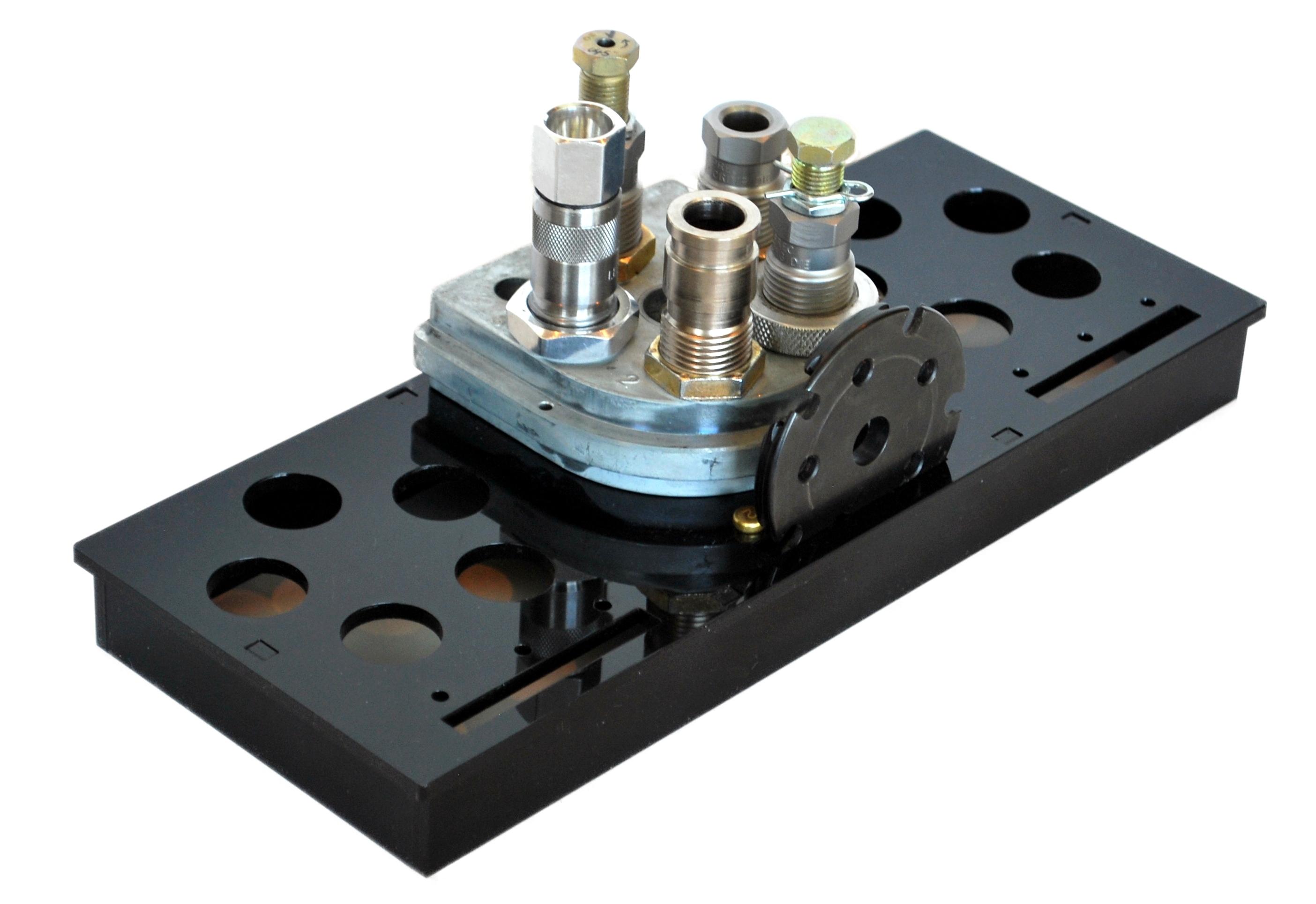 Dillon 650 Toolhead Storage Tray - MachineCraft Design